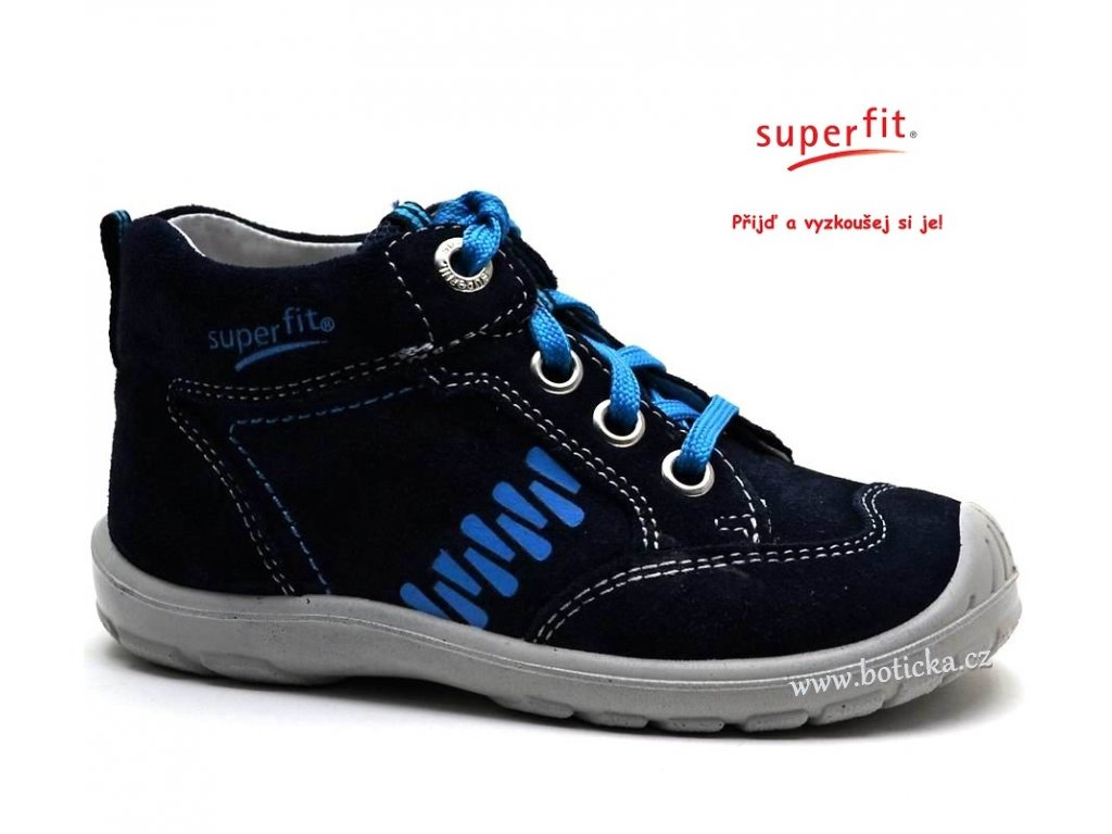 ecd0c713609 Dětské boty SUPERFIT 2-00343-81 ocean kombi - Botička