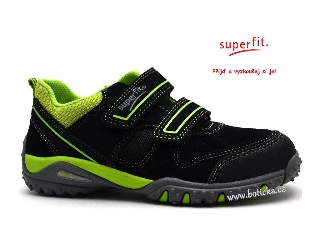 Dětské boty SUPERFIT 2-00224-02 schwarz kombi - Botička a6ef6752c9