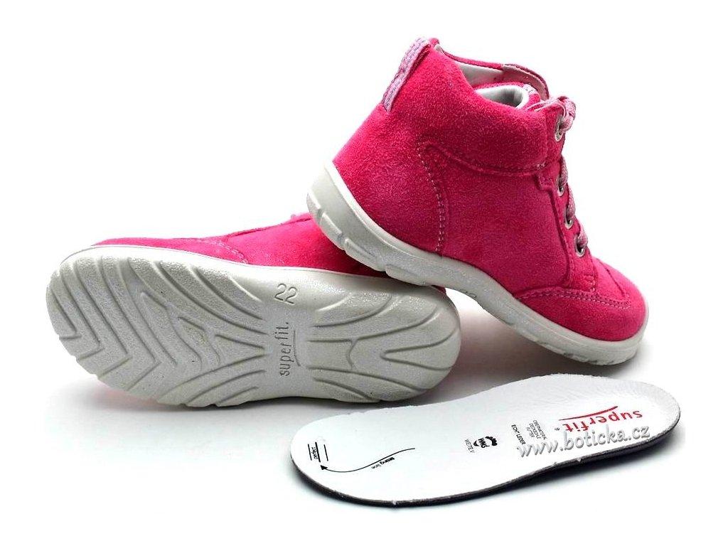 10b8a557f3e Dětské boty SUPERFIT 2-00343-64 pink kombi. 1 z 3. 15234364a 15234364b