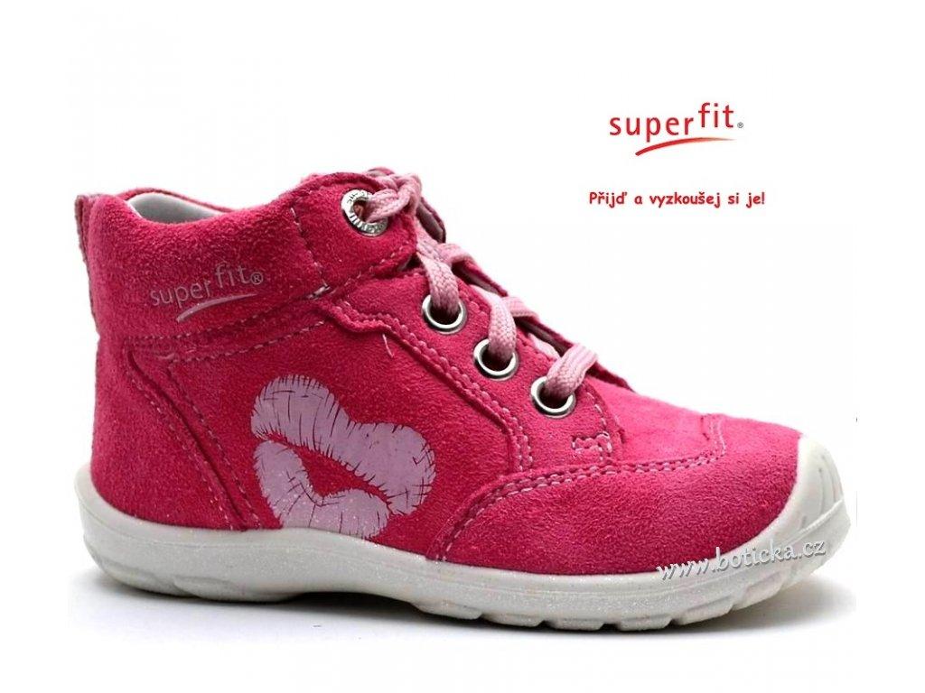 014d16c99bf Dětské boty SUPERFIT 2-00343-64 pink kombi - Botička