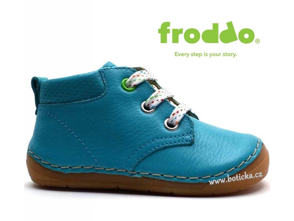 Dětské boty FRODDO G2130131-6 modré