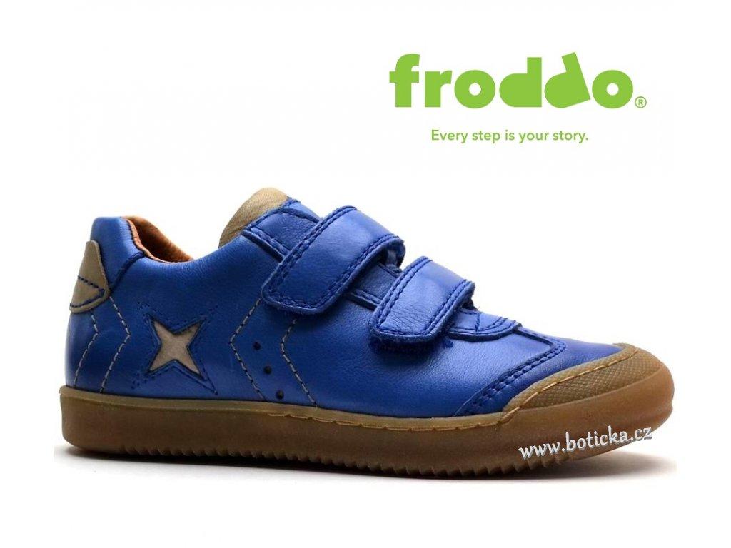 FRODDO obuv G3130107-1 modré - Botička d33877e816