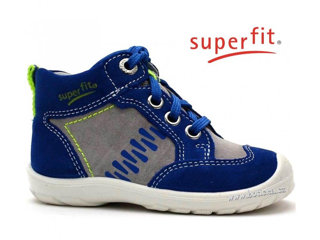 SUPERFIT 2-00343-85 bluet kombi Dětské boty
