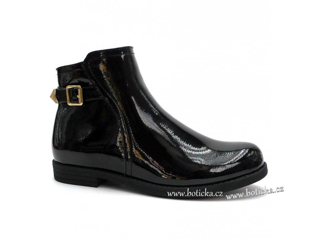SPROX obuv 292141 lakované černé