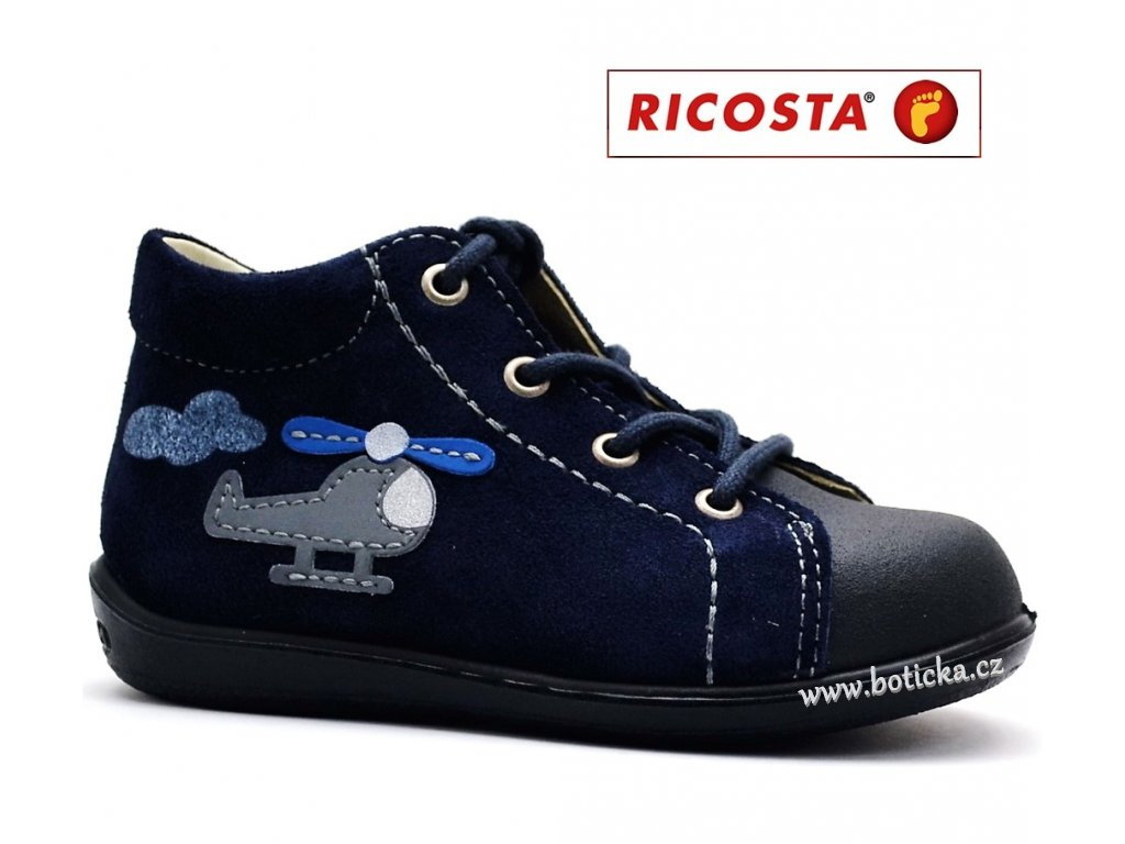 Dětské boty RICOSTA Andy 18285-175 nautic - Botička f02f611bc4