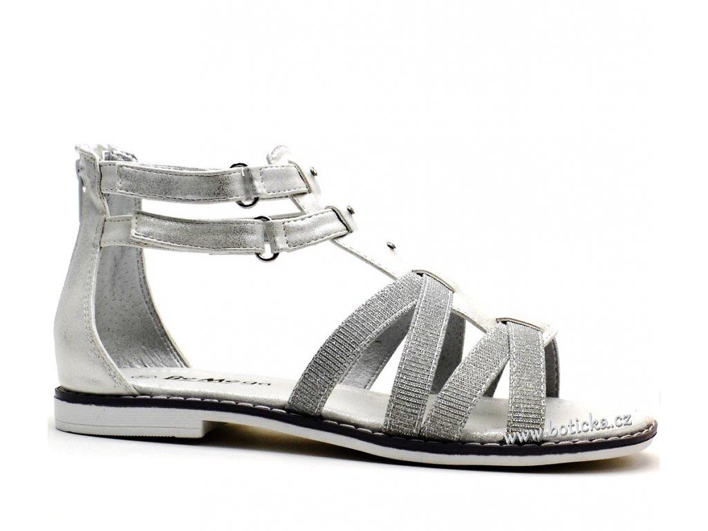 Sandále Be Mega 4842802 white