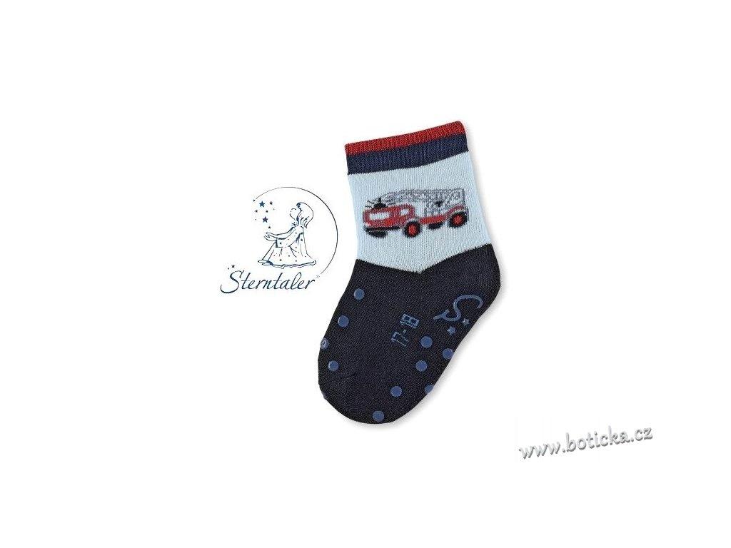 STERNTALER 8011800 Protiskluzové ponožky hasiči