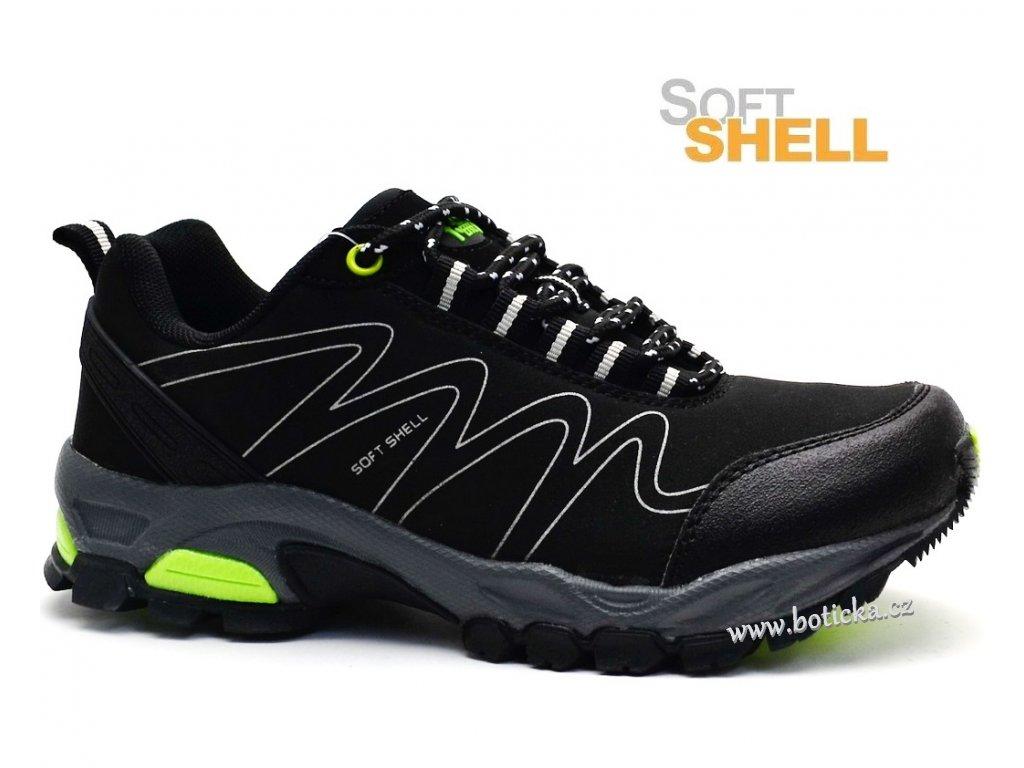 Softshell obuv EFFE TRE 15672-265 černé