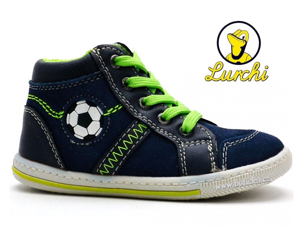 Dětské boty LURCHI 33-14625-42 modrá - Botička e6084416e7