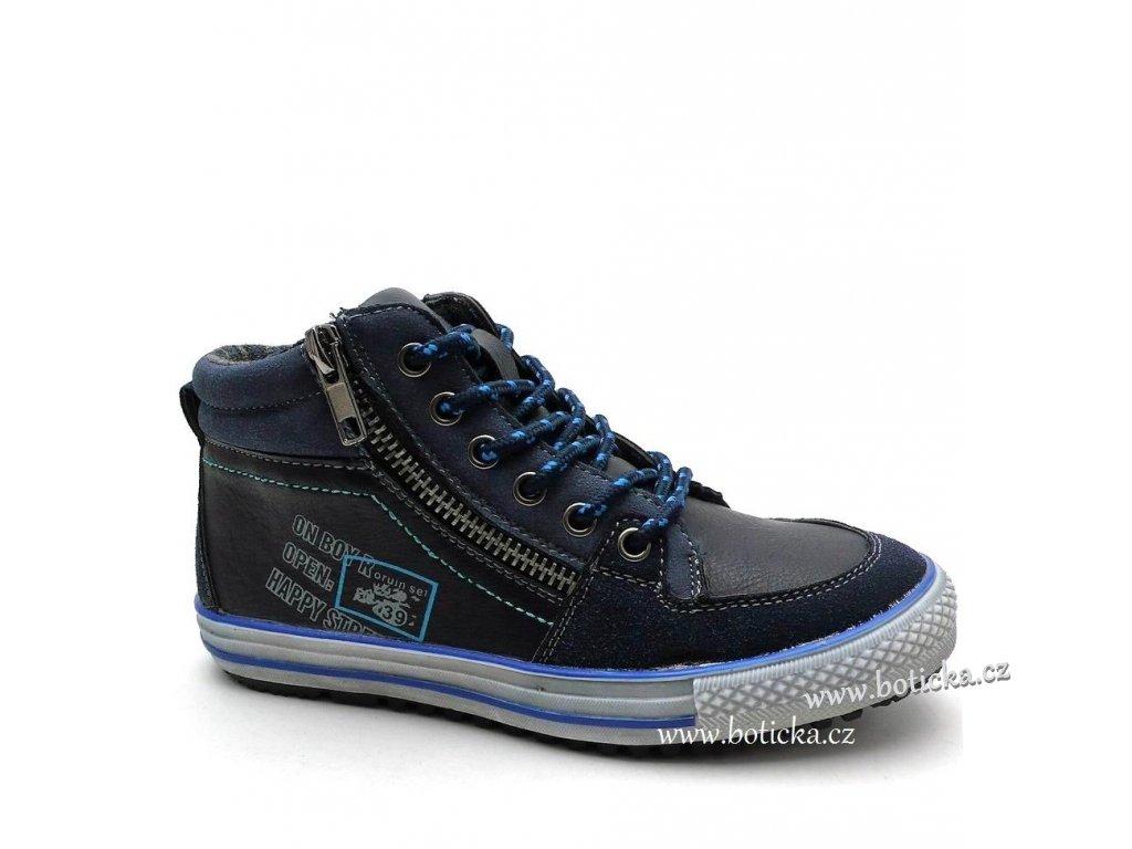HAPPY STREET obuv 46-0720 modré