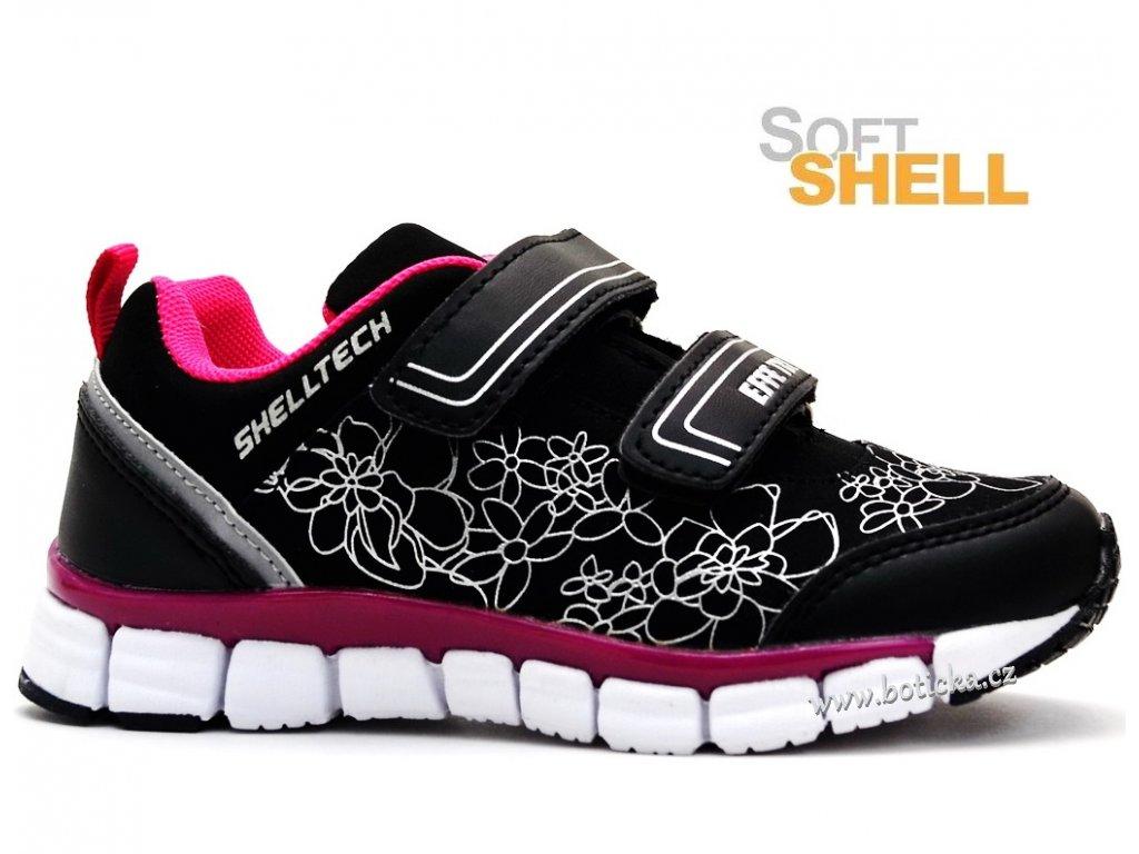 Softshellové boty EFFE TRE růžovočerné