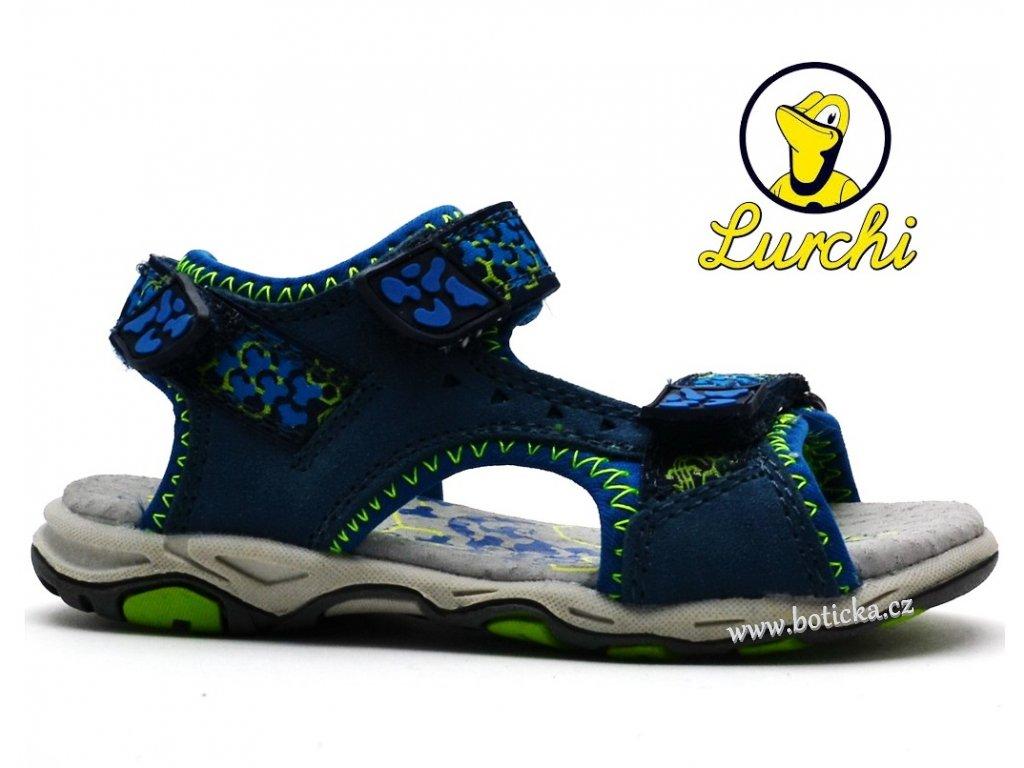 Dětské sandále LURCHI 33-21112-49 modré