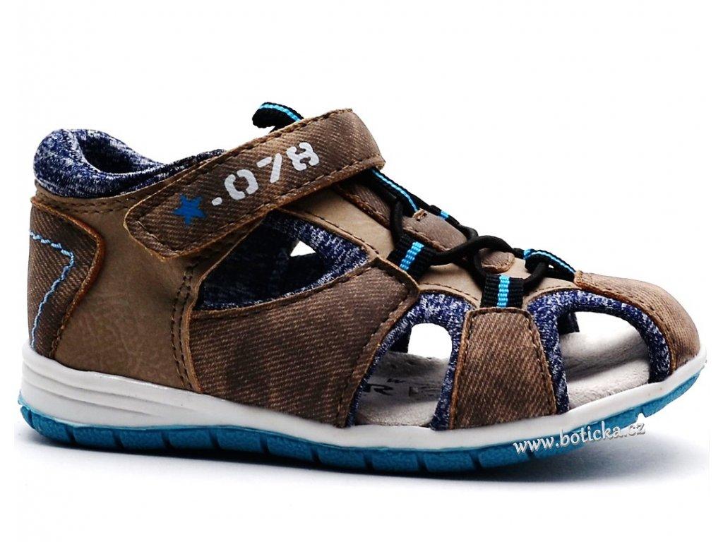 f68b56a514be Sandále SPROX 389032 hnědé - Botička