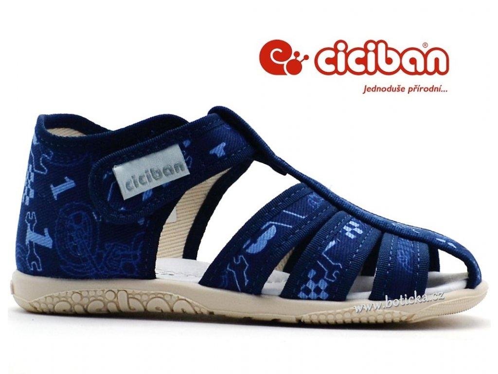 72250297d6f Bačkory CICIBAN 28444 RINGO sandálové - Botička