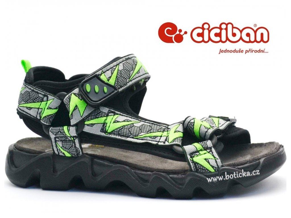 CICIBAN 288315 GREY sandále