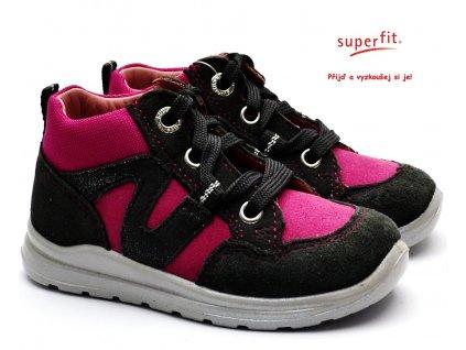 SUPERFIT 3-00323-21 grau/rosa Dětské boty