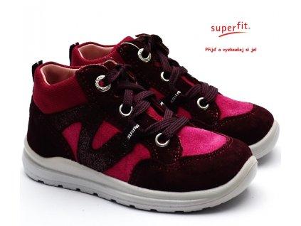 SUPERFIT 3-00323-50 rot Dětské boty