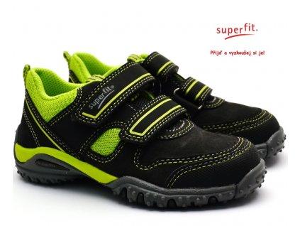 Dětské boty SUPERFIT 3-09224-20 grau/grun