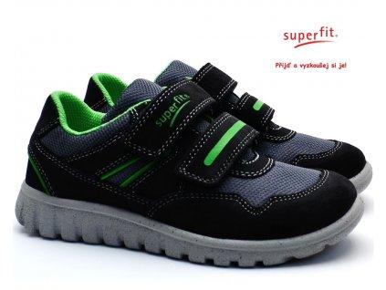 Dětské boty SUPERFIT 3-00191-22 grau/grun