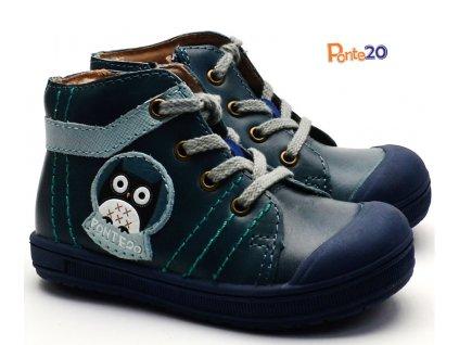 PONTE PP118A Dětské boty Modrá sova