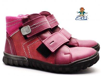 SÁZAVAN ESSI S 2846 Dětské boty růžové