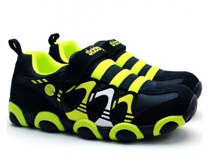 SLOBBY 47-0709 zelenomodré botasky