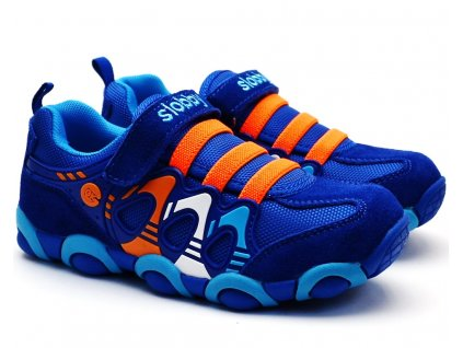 SLOBBY 47-0709 oranžovomodré botasky