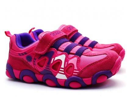 SLOBBY 47-0709 fialovorůžové botasky