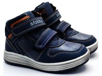 SLOBBY 46-0329 dětské boty modré