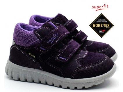 SUPERFIT 3-00193-90 lila Dětské boty