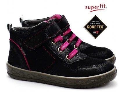 SUPERFIT 3-09099-00 schwarz Dětské boty