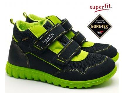 SUPERFIT 3-09194-80 grun Dětské boty