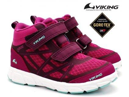 Dětské boty VIKING 3-47305 3954 dark pink
