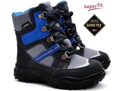 Zimní obuv SUPERFIT 3-09043-20 grau/blau