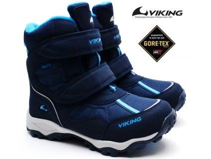 Zimní boty VIKING 3-82500 203 Bluster Navy