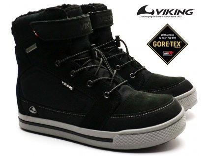 Zimní boty VIKING 3-84500 Zing GTX Black