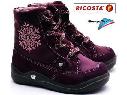 Zimní  obuv RICOSTA 38232-362 merlot