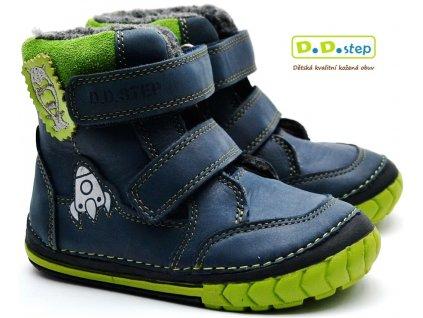 Zimní boty DDstep 029-303B modré