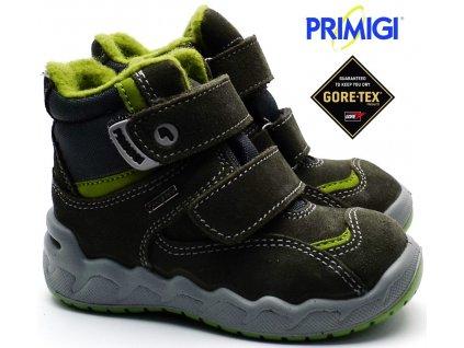 Zimní boty PRIMIGI PMAGT 2378522 bosco