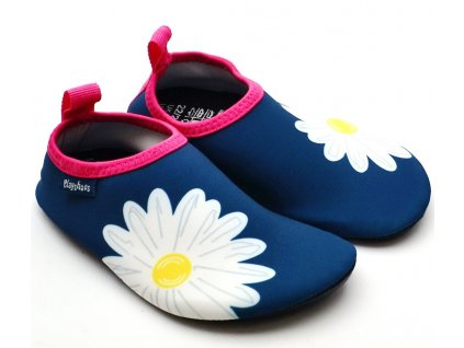 Barefoot boty do vody Playshoes 174907 Kytka