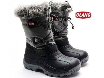 Zimní obuv OLANG PATTY 816 černé
