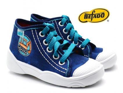 Dětské tenisky BEFADO MAXI 218P054 Bagr