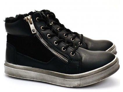 Zimní obuv SLOBBY 46-0774 černé