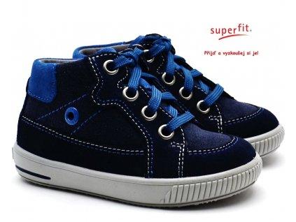SUPERFIT 8-00359-80 blau Dětské boty