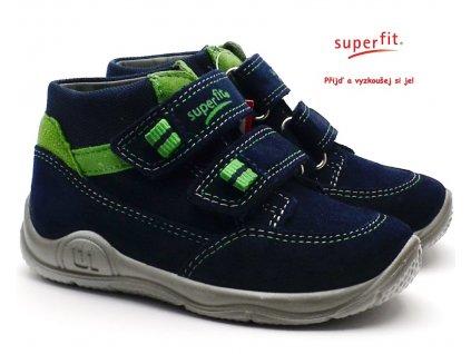 Dětské boty SUPERFIT 8-09415-80 blau/grun