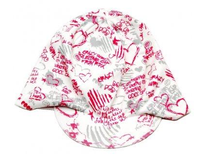 Čepice s kšiltem RDX 1446 Srdce