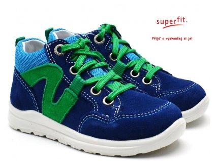 SUPERFIT 4-00323-81 blau Dětské boty