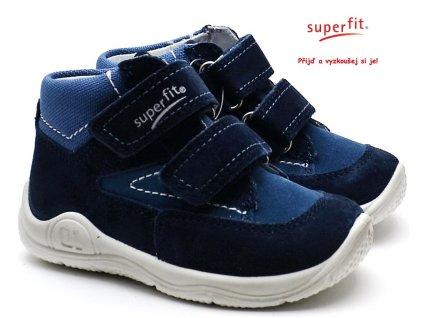 SUPERFIT 3-09417-80 blau Dětské boty