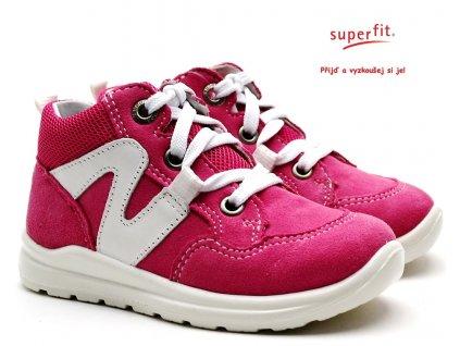 SUPERFIT 4-00323-55 rosa Dětské boty