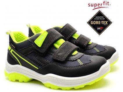 SUPERFIT 4-09064-20 grau/gelb Dětské boty